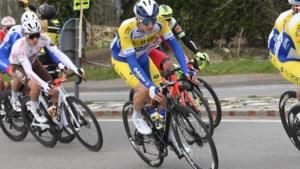"""Leve de laatste: Robbe Ghys (Sport Vlaanderen-Baloise) eindigde op 11'30"""" van Wout van Aert: """"Ik zat heel rap in overlevingsmodus"""""""