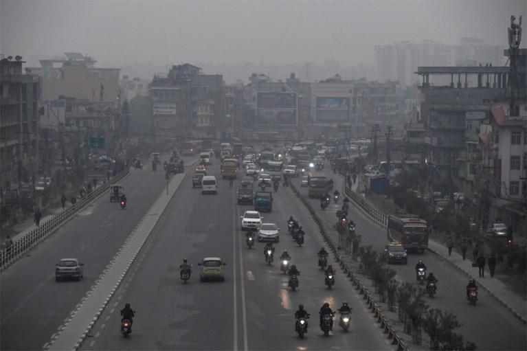 Nepal sluit scholen voor het eerst wegens luchtvervuiling