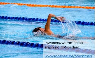 Inwonerszwemmen door succes enkel na afspraak