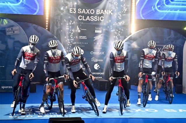Dan toch Trek-Segafredo in Dwars door Vlaanderen: renners mogen starten als ze negatief testen, soigneurs er niet bij