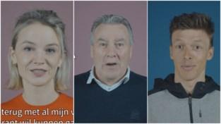 "Lynn Van Royen, Oliver Naesen en rits andere BV's promoten vaccinatie in Denderdal: ""Ja, ik wil"""