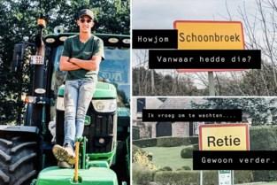 Yenthe (23) verzint woordgrapjes op zijn tractor, nu is hij een hit op sociale media