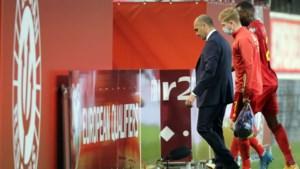 """Roberto Martinez wil met 26 Rode Duivels naar het EK: """"Eén speler extra per linie"""""""