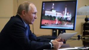 Poetin, Merkel en Macron spreken over vaccins, Navalny en Libië