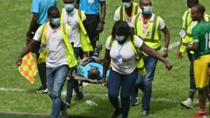 En plots valt de scheidsrechter flauw: interland van Ivoorkust stopgezet
