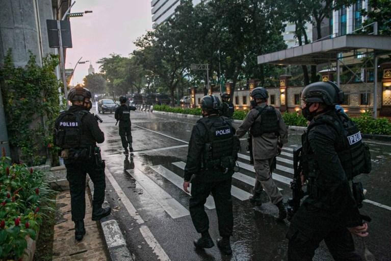 Vrouw doodgeschoten op hoofdkwartier van politie in Jakarta