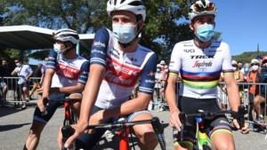 Edward Theuns en Mads Pedersen mogen starten in de Ronde, mits negatieve test