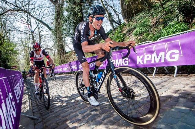 Tiesj Benoot en Sören Kragh Andersen leiden de dans bij Team DSM in Ronde van Vlaanderen