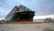 Egypte overweegt eis van 1 miljard dollar schadevergoeding wegens blokkade Suezkanaal