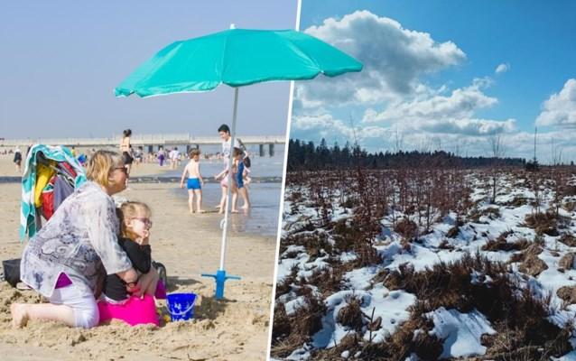 Deze week nog twee warmterecords, maar volgende week sneeuw en hagel: hoe kan dat?