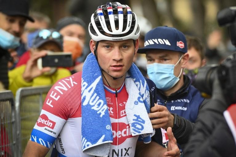 """Mathieu van der Poel zit met vraagtekens voor Ronde van Vlaanderen: """"Ik heb het gevoel dat het niet meer zo super gaat"""""""