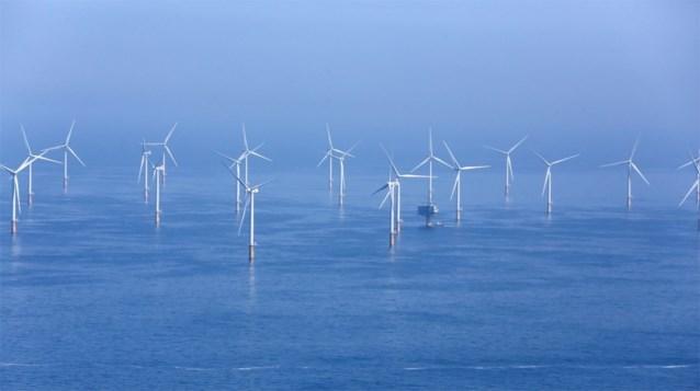 Windmolen vat vuur voor kust van Zeebrugge