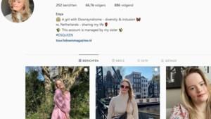 Nederlands meisje met Down verovert Instagram