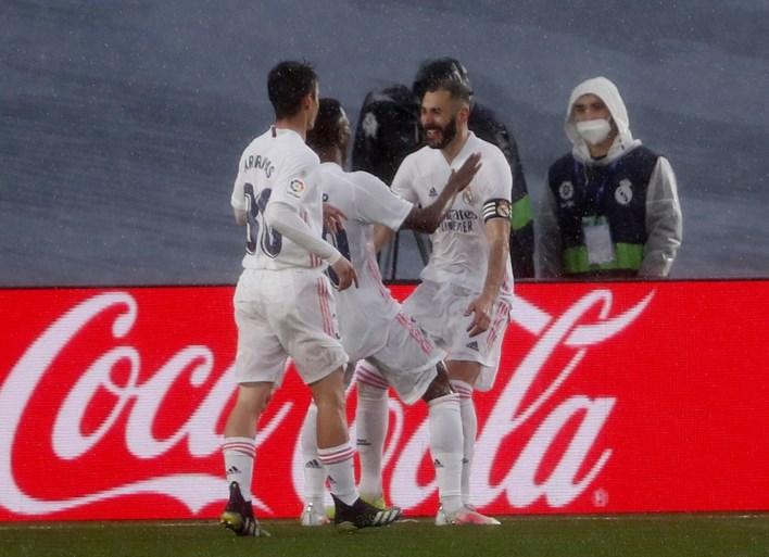 LA LIGA. Real Madrid (zonder Hazard) kent weinig problemen met Eibar