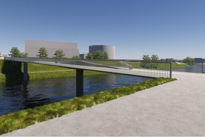 Bouw van nieuwe fietsbrug tussen Merelbeke en Zwijnaarde start dit najaar