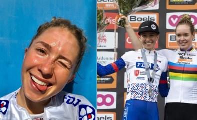 """Ze koerst zoals Mathieu van der Poel en ging viraal met interview na de Ronde, maar wint bijna nooit: """"Ik riskeer liever alles"""""""