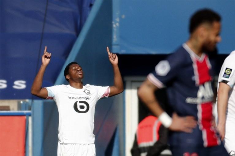 LIGUE 1. Jonathan David (ex-Gent) bezorgt Lille de zege én de koppositie in de topper tegen PSG, jonge Belg Matazo (19) wint met Monaco