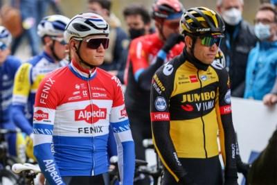 """Mathieu van der Poel heeft een hekel aan de term 'Grote Drie': """"Er worden renners onterecht in de schaduw gezet"""""""
