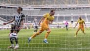 Harry Kane met twee doelpunten alweer de redder van Tottenham, dat wel tevreden moet zijn met punt
