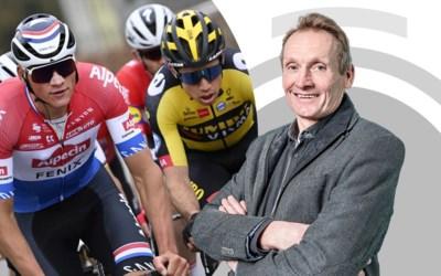 """Adrie van der Poel blikt terug op Ronde van Vlaanderen: """"Wout en Mathieu niet genekt door Italië, maar door vorig seizoen"""""""