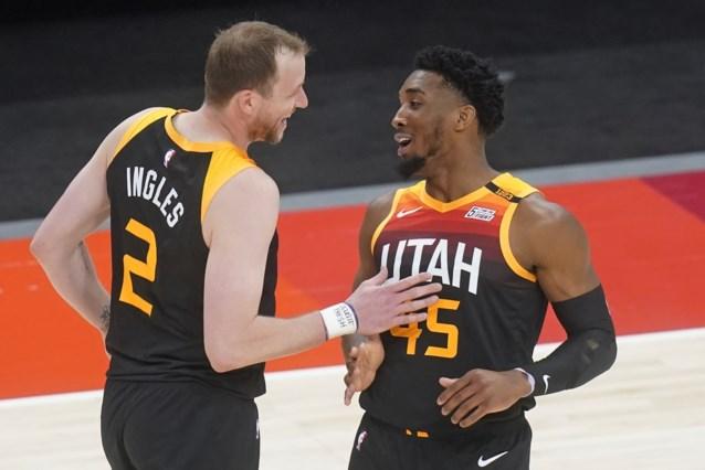 NBA-record achttien driepunters in één helft van Utah Jazz