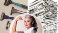 Gooi scheermesjes en kranten niet zomaar weg: huishoudexperte Zamarra Kok geeft tips om alledaagse dingen te hergebruiken