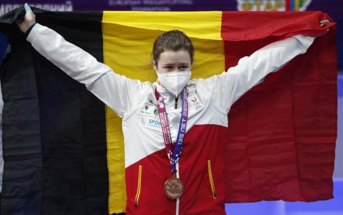 """Nina Sterckx verovert brons: """"Kansen voor Tokio blijven klein"""""""
