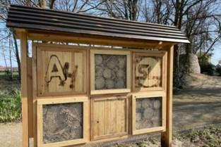 <B>Scholen bouwen samen insectenhotels</B>
