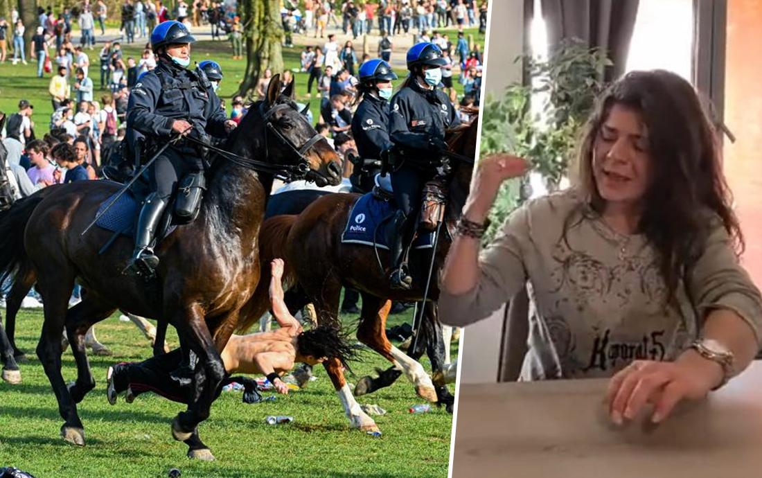 """Vrouw die omver werd gelopen door politiepaard in Ter Kamerenbos: """"Dit had fataal kunnen aflopen"""""""