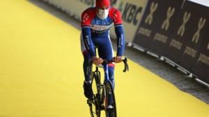 """Damien Gaudin bolde als laatste over de streep in de Ronde: """"Ik zit al zes weken op hotel in Kortrijk, zonder één dag naar huis te gaan"""""""