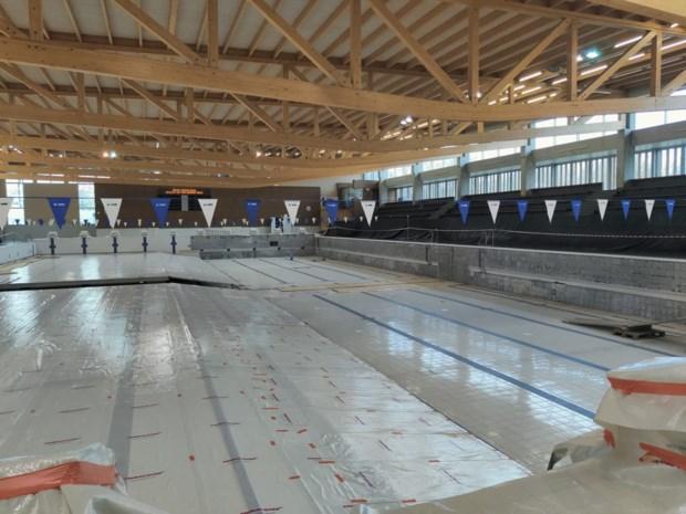 """Zwembad Rozebroeken heropent pas ten vroegste in juni: """"Hopelijk wordt timing gehaald"""""""