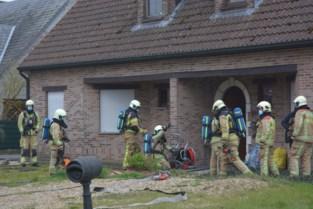 Huis onder de rook na brand elektriciteitskast