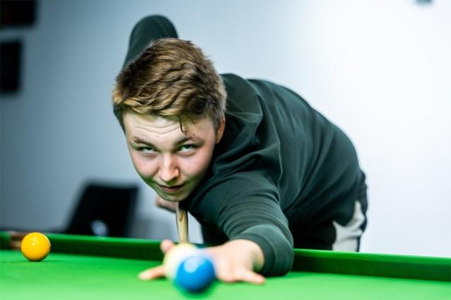 Piepjonge Ben Mertens geeft voorsprong weg in eerste kwalificatieronde op WK snooker