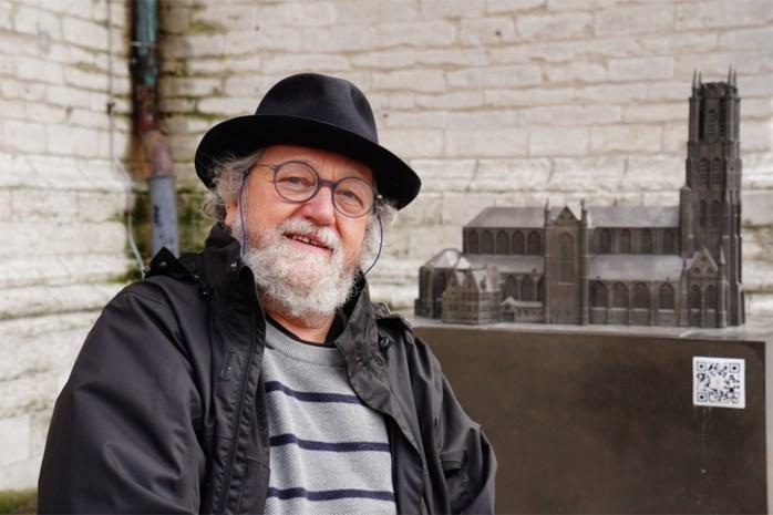 Kunstenaar MaRf (70) werkte anderhalf jaar aan mini-Sint-Baafskathedraal voor blinden