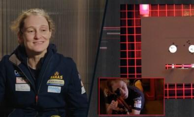 """Schietmonitrice Delfine Persoon gefrustreerd in De Container Cup: """"Hoe ga ik dat aan mijn collega's uitleggen?"""""""