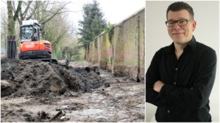 Historische bodemvervuiling aan tuinmuur van Rubenskasteel wordt na 36 jaar wachten afgegraven