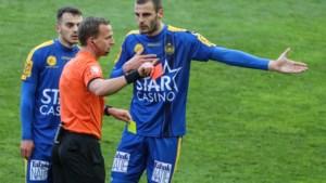 Aleksandar Vukotic riskeert drie speeldagen schorsing na rode kaart, Waasland-Beveren gaat in beroep
