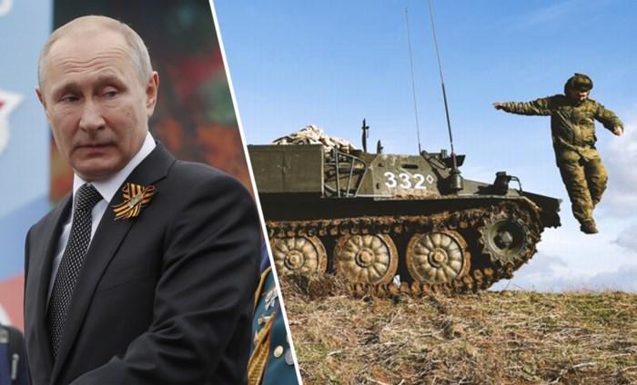 Bereidt Rusland nieuwe oorlog voor? Europa en VS kijken angstvallig naar troepen aan Oekraïense grens