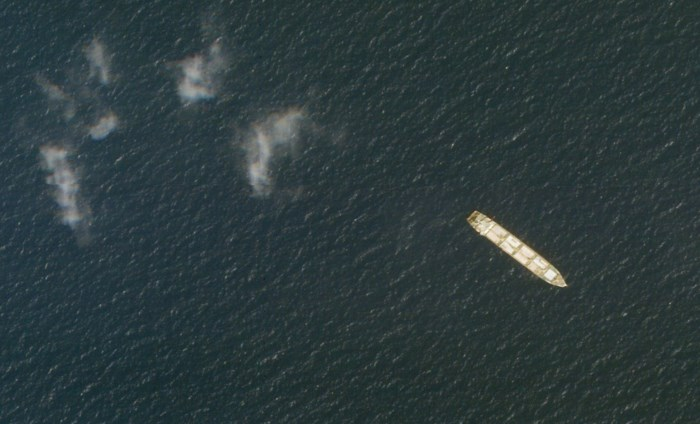 Explosie op Iraans spionageschip verraadt 'geheime zeeslag' met Israël