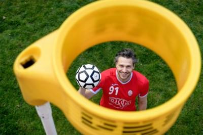 Jarni Amorgaste, de topkorfballer die iedereen het nakijken gaf in 'De container cup', maar geen cent verdient met zijn sport