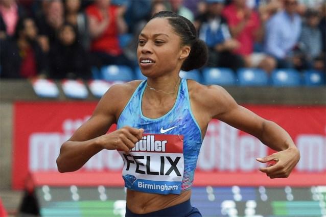 Zesvoudig olympisch kampioene Allyson Felix wil nog een laatste keer schitteren in Tokio