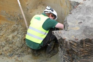 Archeologische vondsten in Oude Vestenstraat