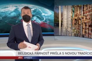 "Kruisjeshek aan Vlaamse kerk haalt Slovaakse tv: ""Dacht aan 1 aprilgrap"""