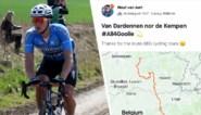 Wout van Aert is sterfdatum van zijn maatje Michaël Goolaerts lang niet vergeten en eert hem met pittige trainingsrit