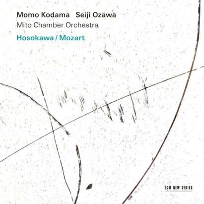 RECENSIE. 'Hosokawa/Mozart' van Momo Kodama, Seiji Ozawa, Mito Chamber Orchestra: Te schoon om waar te zijn ***