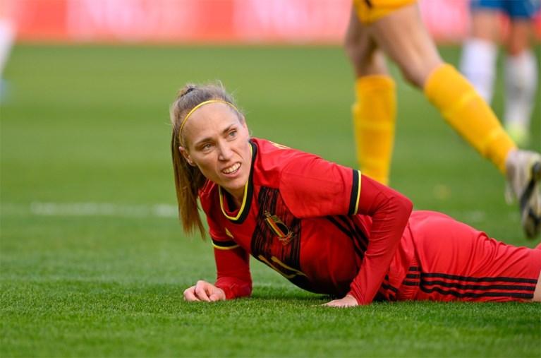 Red Flames gaan ondanks veel goede wil ook in derde oefenwedstrijd richting WK-kwalificatie onderuit, Noorwegen met 0-2 te sterk