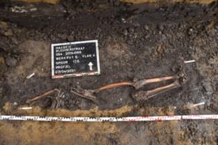 Twintig skeletten gevonden bij wegenwerken in Mgr. Koningsstraat