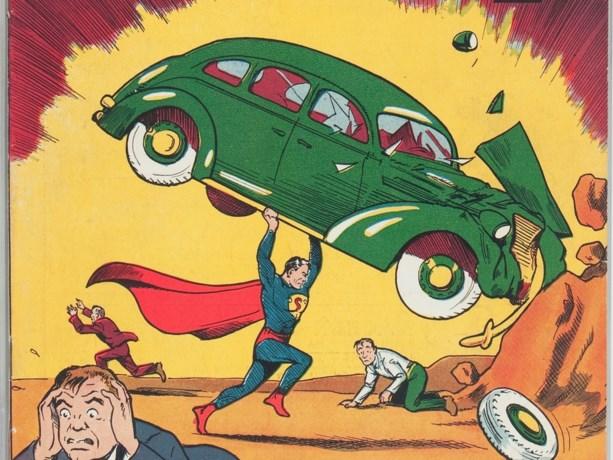 Zeldzaam Superman-stripboek verkocht voor recordbedrag