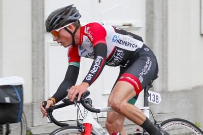 """Sander Rietjens maakt tijd voor stage en eindwerk: """"Daarna wil ik weten hoever ik geraak als renner"""""""
