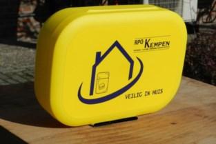 Gele doos moet senioren zich veiliger laten voelen in hun kot